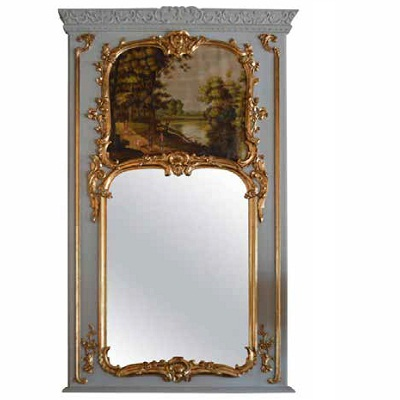 The Trumeau Mirror